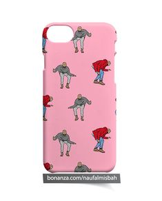 Hotline Bling Dancing Drake Pattern iPhone 5 5s 5c 6 6s 7 8 + Plus X Case Cover
