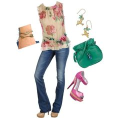 Casual date nite??, what do you think of it? Trying to learn how to put outfits together with the help up my sweet daughter,...created by lavonne-mitchell on Polyvore