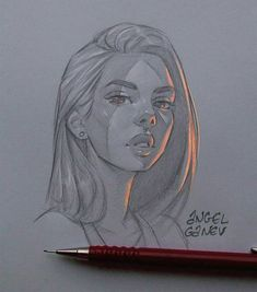 This illustrator creates exceptional light effects on his drawings - tattoo ideas Art Drawings Sketches, Cool Drawings, Art Sketches, Illustration Art Drawing, Pencil Drawings, Tumblr Drawings, Tumblr Art, Portrait Sketches, Graphite Drawings