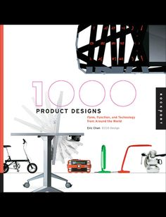 1,000 Product Designs - Book - http://ecofriendlyretailer.com/eco-office/1000-product-designs-book/