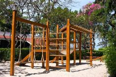 34 Free DIY Swing Set Plans for Your Kids' Fun Backyard Play Area Get your kids playing outdoor by building a backyard swing set. Here's a collection of 34 free DIY swing set plans for you to get some ideas. Diy Playground, Children's Playground Equipment, Natural Playground, Children Playground, Playground Design, Play Equipment, Backyard Swing Sets, Backyard Playset, Diy Swing
