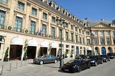 Plaza Vendome - Una de las plazas más lujosas de París
