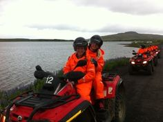 Our Arctic Adventures interns go for an ATV tour to see the sights of Iceland. #arcticadventures #iceland