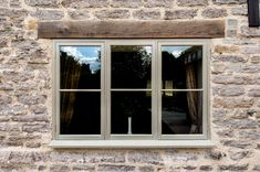 Browse thousands photos of Casement Windows that will inspire you. Find ideas and inspiration for Casement Windows to add to your own home. Barn Windows, Cottage Windows, Cottage Door, Modern Windows, Farmhouse Windows, Cottage Exterior, Windows And Doors, Front Doors, Windows