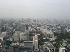 On August 1st 2014, I enjoyed a highest view in Bangkok!@Baiyoke Sky Hotel Observation Deck 場所: ราชเทวี, กรุงเทพมหานคร
