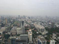 On August 1st 2014, I enjoyed a highest view in Bangkok!@Baiyoke Sky Hotel Observation Deck 場所: ราชเทวี, กรุงเทพมหานคร
