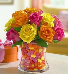 Love this for Valentines Day centerpiece | A1 Pictures