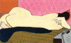 Nude - Milton Avery - The Athenaeum