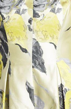 Lela Rose Sleeveless Tucked Waist Dress | Nordstrom