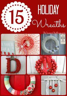 15 Holiday Wreaths | Christmas Wreaths