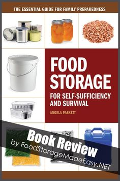 Book Review:  Food Storage for Self-Sufficiency and Survival | Food Storage Made Easy | #prepbloggers #bookreview