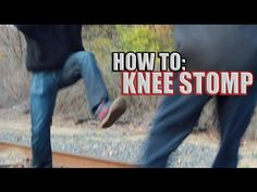 How to Kick Someones Knee Out in a Street Fight - Because they won't expect this one coming!  http://www.youtube.com/watch?v=tia_3B_hk64