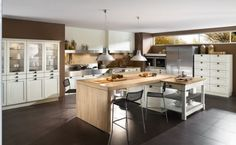 Contemporary Kitchen at beautiful and cool French design ideas