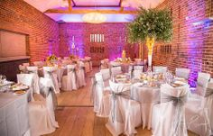 Springtime in the Castle Barn at Wasing Park by Cherubs Floral Design #wasingpark #springwedding #weddingideas