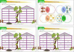 Método ABN. Descomponemos números hasta el 10 Math For Kids, Math Activities, Ideas Para, Martini, Preschool, Learning, Children, Blog, Mental Calculation