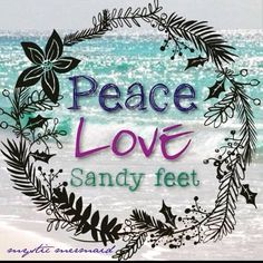 Forever! ✌️❤️🌊⛵ #sailing #liveaboard #sailingsweetaddie #aquaticlife #saltlife #sandyfeet #setsail #worldtravelers #cruising… Ocean Quotes, Beach Quotes, Beach Sayings, I Love The Beach, Peace And Love, Beachy Pictures, Beach Signs Wooden, Gratitude Quotes, Just Dream