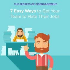 If you are attempting to covertly sabotage your department by demoralizing and disengaging as much of your staff as possible, these 7 surefire methods will show you how. (link in bio ) #donttrythisatwork . . . #employeeengagement #employees #training #leadershiptraining #leadership #manager #engagement #workplace #officevibes #happiness #aventr #happster #workhappier #Regram via @teamaventr