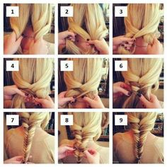 Step by Step Fishtail Tutorial
