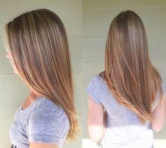 v style haircut