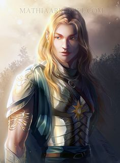 Glorfindel. The Elf who was sent back from death to fight in the war of the ring.