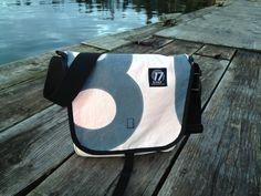 17 Knots Ballard Bag  Recycled Sailcloth Bag by 17Knots on Etsy, $160.00