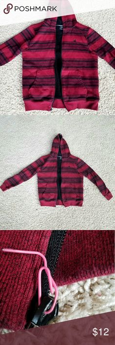 Guys Jacket Warm and cozy. Broken zipper but it still zips, and the hoodie strings are missing. Great condition other wise, gently worn. Zoo York Jackets & Coats