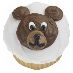 Beary Sweet Cupcakes - Everybody loves baby cubs. You can immediately see why with our Beary Sweet Cupcakes. Just ice smooth, pipe facial features and the little one comes to life.