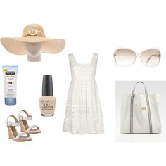 """beach outfit"" on Polyvore"