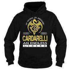 awesome CARDARELLI T-shirt Hoodie - Team CARDARELLI Lifetime Member