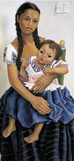 Portrait of Delfina Flores (1957) by Diego Rivera