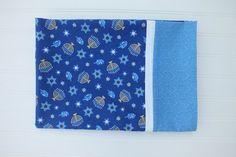 Standard size pillowcase Hanukkah Chanukah by BlackKatStudio