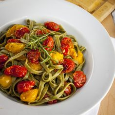Roasted Tomato and Rosemary Pasta