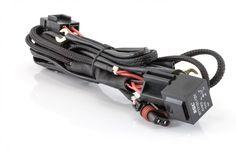 Komplett ledningsnett til H4 bixenon. Kan brukes på 1 og 2 pærer. Støtter både europeiske biler og japanske biler. Ledningsnettet er komplett med kontakter for jording, pluss til batteri med sikring, vanntett rele/styringsboks, kabler til pærer og plugg til original H4 kontakt. Single Image, Led Lamp, Lily, Branding