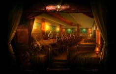 Restaurant Redkabak by Alex Martinov, via Behance