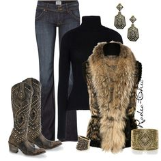 Roar by rodeo-chic on Polyvore featuring Anthony Vaccarello, Roberto Cavalli, Hudson Jeans, MANGO and R.J. Graziano