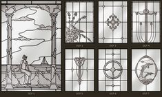 Stained glass, windows, modern, jewel, bevel, etched, bevelled, sandblast, art deco, art nouveau, beveled, lead designs...