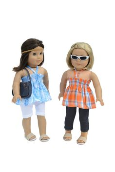 Casual Outfit Set Fits 18 Inch Doll Clothes