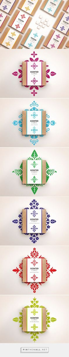 Scented Cubes by Joanna Szekalska. Source: Behance. Packaging design