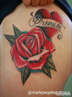 Roses by Mark Peoples done at Gypsy Rose Tattoos