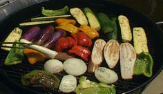 Grilled Veggies with Herb Marinade from P. Allen Smith