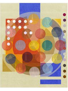 "Saatchi Art Artist: Czar Catstick; Photo 2015 Collage ""Bauhaus London ONE - 30x40 inch Monoprint 1/1"""