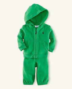 Polo Baby Set, Baby Boy Fleece Hook Up Set
