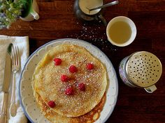 Posie Gets Cozy: Summer Eats and Heats Swedish pancakes
