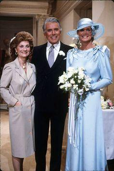 DYNASTY John Forsythe, Linda Evans, Bridesmaid Dresses, Wedding Dresses, Image, Fashion, Bridesmade Dresses, Bride Dresses, Moda