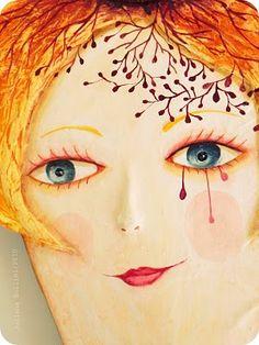es de la artista Juliana Bollini , me encantan sus creaciones en papel mache