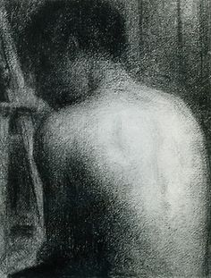 Georges Seurat drawi