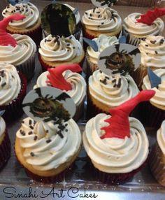"""Cupcakes de """"Como entrenar a tu dragón"""""""