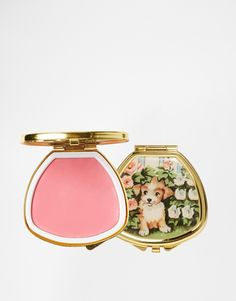 Andrea Garland Lip Balm In Vintage Inspired Pill Box