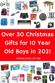 35 Christmas Gifts for 10 Year Old Boys in 2021 - Homeschool of One Christmas Gifts For 10 Year Olds, Christmas Gift List, Christmas Fun, Xmas, Frugal Christmas, Best Gifts For Boys, Gifts For Teens, Gifts For Kids, Fun Card Games