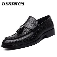 High Quality Genuine Leather Men Shoes - Oxfords Shoes - Dress Shoes